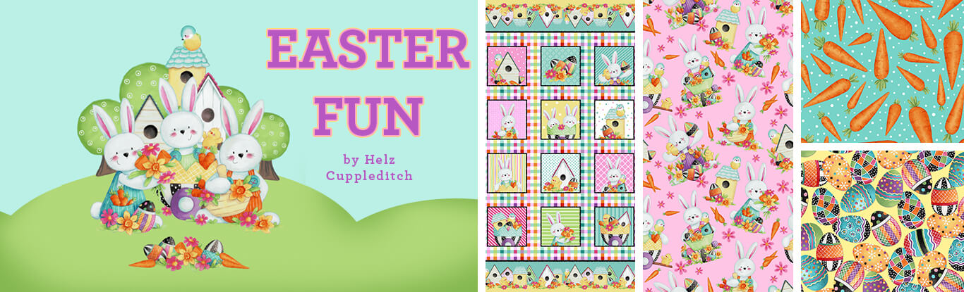 Easter Fun Fabric Collection