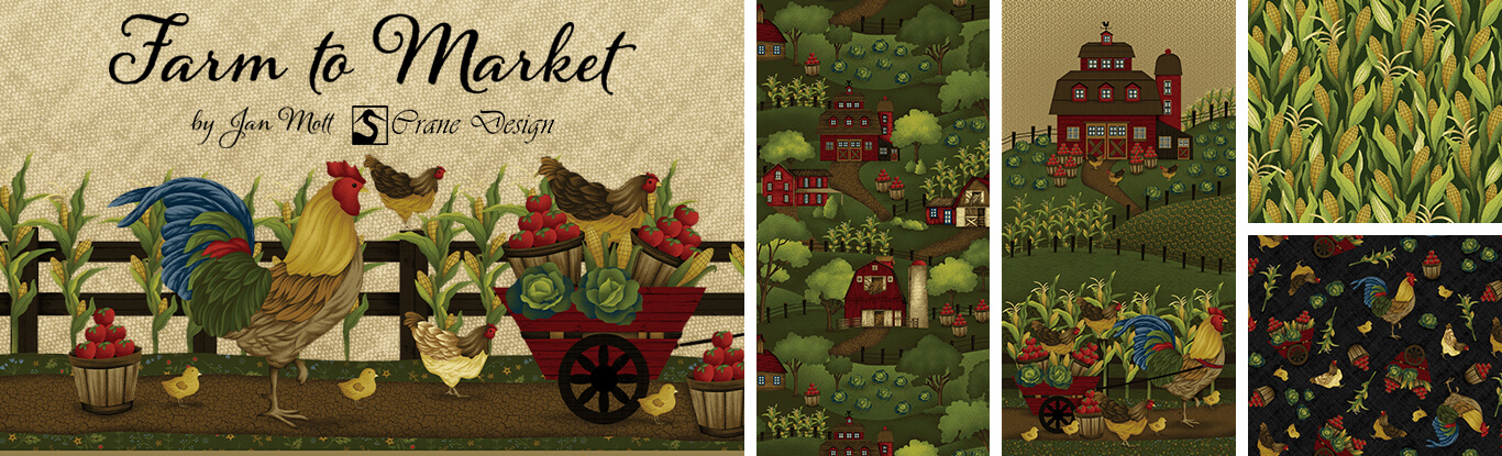 Farm to Market Fabric Collection